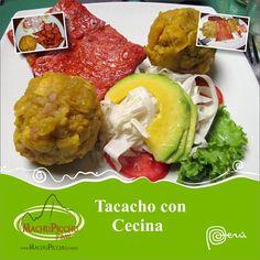 Tacacho con cecina - gastronomía  peruana