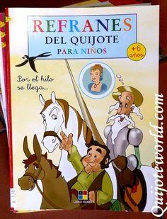 Refranes en Literatura # # infantil para Niños - Quijoteworld, # Quijote de colores, MÁS encuentra en: http://www.quijoteworld.com/quijote-decoraci% C3%% B3n-tienda/papeleria-don-quijote/para-ni C3 B1os% /