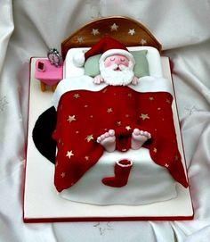 Mais 10 Bolos decorados para o Natal Idéias de bolos com o tema Papai Noel . Alguns simples outros elaborados, mas todos divertidos ...