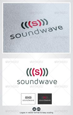 Sound Wave S Logo