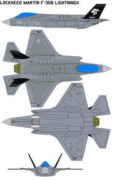 Lockheed Martin F-35B Lightning by bagera3005.deviantart.com on @DeviantArt