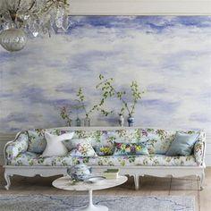 cielo - sky wallpaper   Designers Guild