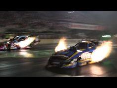 2015 Night Under Fire Courtney Force Matt Hagan Nitro Funny Car Gassers Nostalgia Drag Racing Videos - YouTube