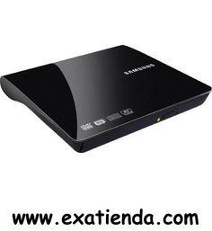 Ya disponible Regrabador dvd Samsung externo negra (reproduce en tv)   (por sólo 33.58 € IVA incluído):   -Samsung SE-208DB. -Conexion: USB 2.0 -Velocidad de la escritura: 24 x, 24 x, 24 x, 6 x, 6 x, 6 x, 8 x, 24 x, 8 x, 6 x. -Velocidad de la lectura: 24 x, 5 x, 8 x, 6 x, 24 x, 6 x, 8 x, 24 x, 8 x, 24 x, 8 -Tiempo de acceso: 150 ms, 150 ms. -Impulsión óptica: Bandeja, 1 MB, DVD±R/RW, Horizontal. -Formatos de los medios: 120 mm. -Transmisión de datos: 10.8 MB/s. -Dimen