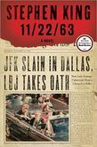 11/22/63  What if you could go back in time and change history? Steven King takes us back to an simpler time. A story about Jake Epping who attempts just that. The story is a tad bit long but thoroughly engrossing story of a man who finds love along his journey.