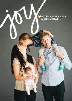 Card design: Joyous Heart #ChristmasCards