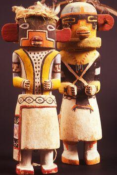 Hopi Lizard and Manawgya Kachina dolls, Museum of Northern Arizona, Flagstaff, Arizona Copyright:Chuck Place© Native American Dolls, Native American Pictures, American Indians, Arte Tribal, Tribal Art, Hopi Indians, Indian Dolls, Art Premier, American Indian Art