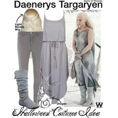 Inspired by Emilia Clarke as Daenerys Targaryen on Game of Thrones.