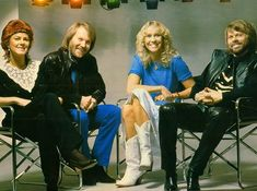 #ABBA chilling in the #80s