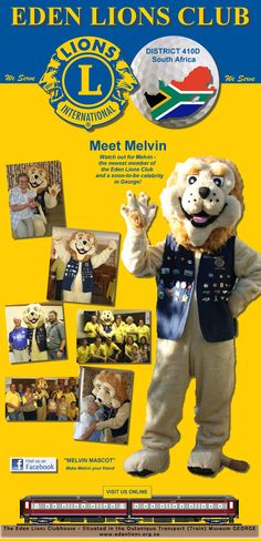 Club Promotional Banners - Melvin Mascot