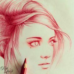 amazing drawing -Rik Lee