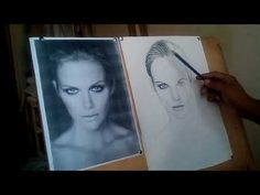 How to make Pencil sketch live drawing portrait,be an artist,how to make sketch, How To Make Sketch, Pencil, Polaroid Film, Portrait, Drawings, Artist, Youtube, Headshot Photography, Artists