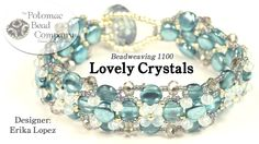 "This video tutorial from The Potomac Bead Company teaches you how to make Erika Lopez' ""Lovely Crystals"" bracelet, which won 10th place in the 2016 Potomac B..."