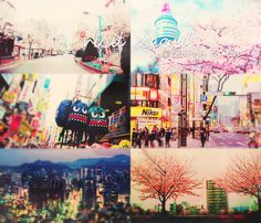Seoul is colorful  city!!