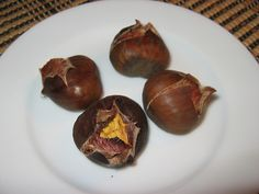 Roasted Chestnuts in the oven [update: it's ok in the oven, get a grill!]