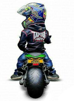 Touring Motorcycle Posters, Motorcycle Art, Bike Art, Bike Drawing, Valentino Rossi 46, Biker Boys, Bike Photography, Xmax, Super Bikes