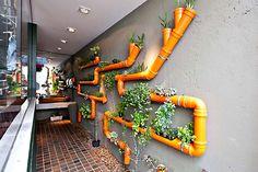 Que tal fazer um jardim vertical na sua casa? Separamos ideias baratinhas e criativas do Pinterest para você copiar. Escolha uma e mãos à obra!