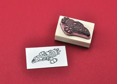 Firefly Serenity Rubber Stamp Hand carved Serenity by GeekStamps