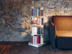Download the catalogue and request prices of Buchstabler By nils holger moormann, open swivel bookcase