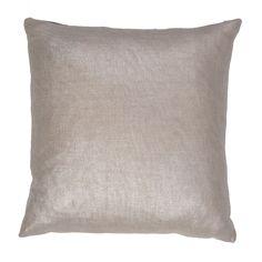 Jaipur Rugs Solid Pattern Gray Cotton Pillow SHM04