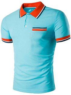 13d139c140547e Dasongff Herren Shirt Polo Kurzarmshirt Slim Polohemden Männer Poloshirt  Buttons Design Halb Cardigans Sweatshirt Slim Fit