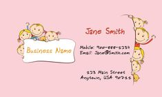 85 best business card imagestemplatesideasgraphics images on babysitting business cards free 85 best business card imagestemplatesideasgraphics images on child care business cards babysitting templates accmission Images