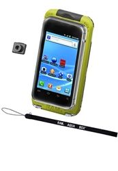 RAM-HOL-AQ7-2LU RAM Aqua Box Pro 20 Large Smartphone Waterproof Holder w/ Lanyard & Button