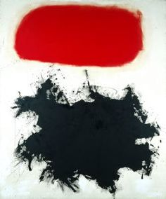 Adolph Gottlieb, Cadmium Red Above Black, 1959, © Adolph and Esther Gottlieb Foundation/Licensed by VAGA, New York, NY
