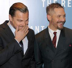 "Leo & Tom at ""The Revenant"" London Premiere -Jan 14th 2016"