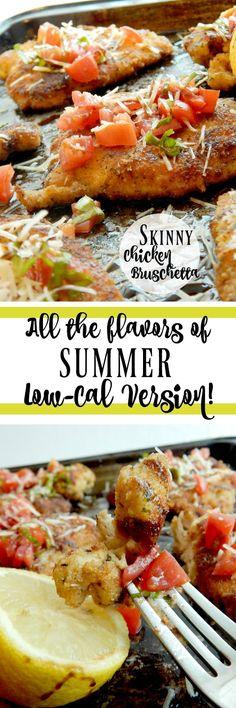 Skinny Chicken Bruschetta Tapas Recipes, Seafood Recipes, Appetizer Recipes, Dinner Recipes, Shrimp Appetizers, Cheese Recipes, Dinner Ideas, Entree Recipes, Italian Recipes