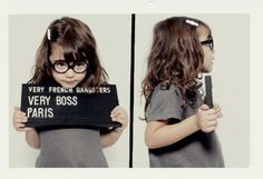 little gangster!! soooo cute<3