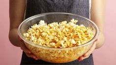 The Ultimate Party Starter: Buffalo Ranch Popcorn  - Delish.com