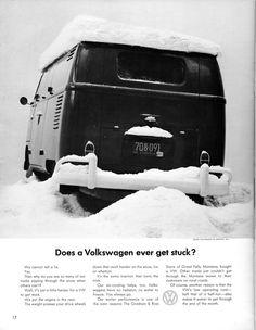 Volkswagen Ad - Stuck?