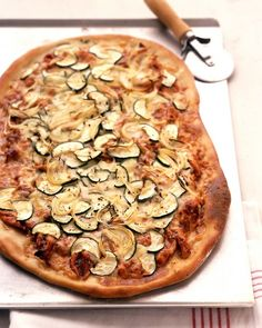 Barbecued Chicken Pizza - Martha Stewart Recipes