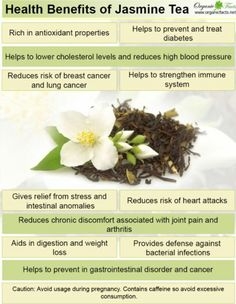 The health benefits of jasmine tea include a reduced risk of heart attacks a stronger immune system and the prevention of diabetes. Jasmine tea also helps prevent cancer while reducing stress improving digestive processes and lowering cholesterol. Calendula Benefits, Matcha Benefits, Lemon Benefits, Coconut Health Benefits, Coffee Benefits, Jasmine Tea Benefits, Digestion Process, Stomach Ulcers, Prevent Diabetes