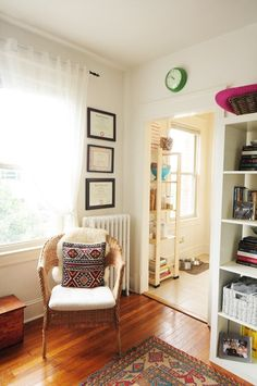 Julie's Artful Home in D.C. — House Tour | Apartment Therapy