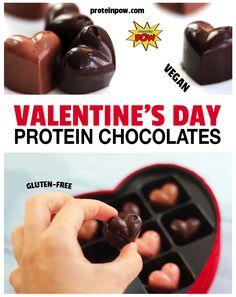 Vegan Protein Pow Chocolates