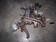 weld up to stock turbo: tial 38mm