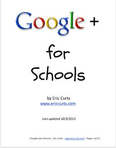 A Must Read Google Plus Guide for Schools | Educational Technology and Mobile Learning
