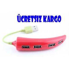 USB Çoklayıcı-Biber Şeklinde-Ücretsiz Kargo 19,90 TL