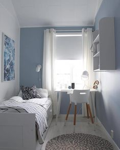 14 Trendy Bedroom Design and Decor Ideas for Your Next Makeover - The Trending House Small Room Design Bedroom, Room Ideas Bedroom, Home Room Design, Bedroom Decor, Modern Bedroom, Contemporary Bedroom, Trendy Bedroom, Interior Design Small Bedroom, Bedroom Girls