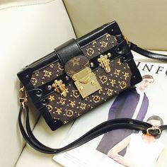 Louis Taschen Kamera Box Serie 2016 Mode-Design MAMA Stickerei Blume Brief Umhängetasche Handtasche Damen Messenger Bag
