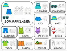 Teckenkartor – Fröken Ljusta Sign Language Book, Learn Swedish, Swedish Language, Kids Planner, Paper Doll House, School Signs, Farm Theme, Learn Chinese, English Words