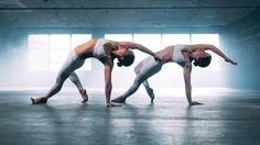 Beautiful yoga flow
