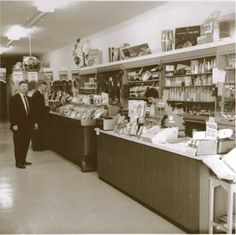 Bronstein's Music Store, South San Francisco, early 1960's