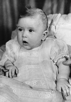 Le prince Charles le 6 avril 1949
