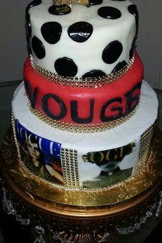 Cake de portadas vouge