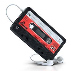 iPhone 4 Cassette Case Cover, $18, now featured on Fab.