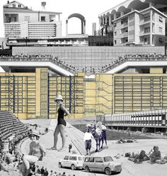Collage in the Cyprus 2014 Venice Biennale pavilion,