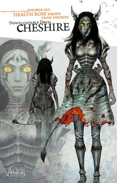Alice: Madness Returns :: Cheshire Dress